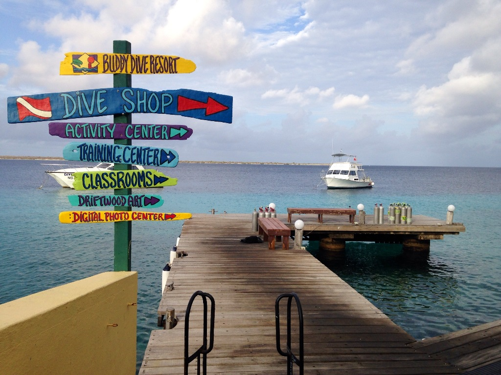 Pier do Buddy Dive Resort - Bonaire