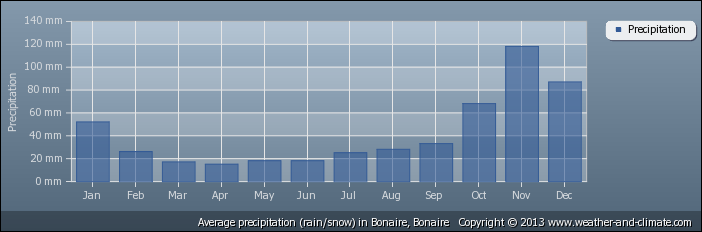 average-rainfall-bonaire-bonaire