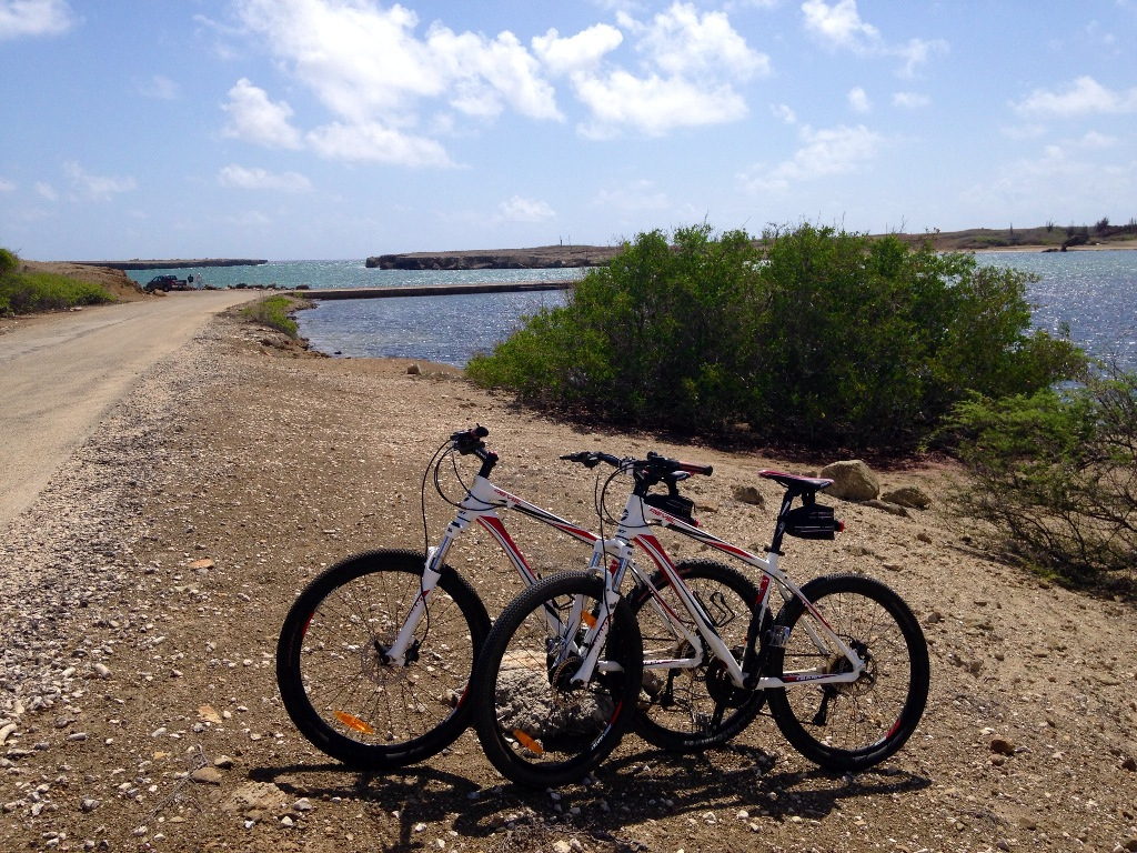 Mountain bike em Bonaire