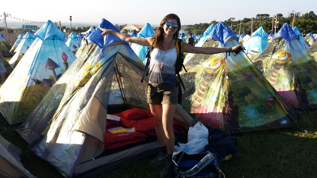 Acampar no Tomorrowland